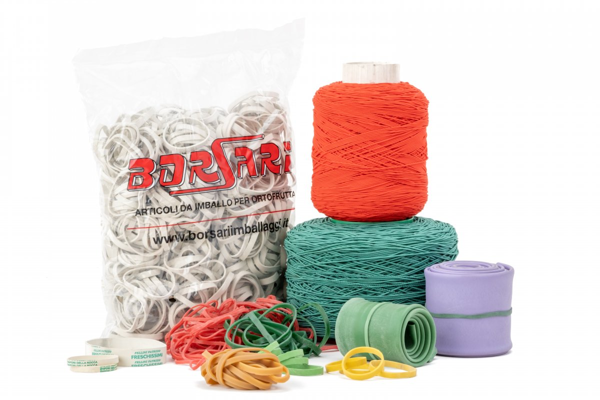 Elastic Bands and Tapes in Para or Rubber