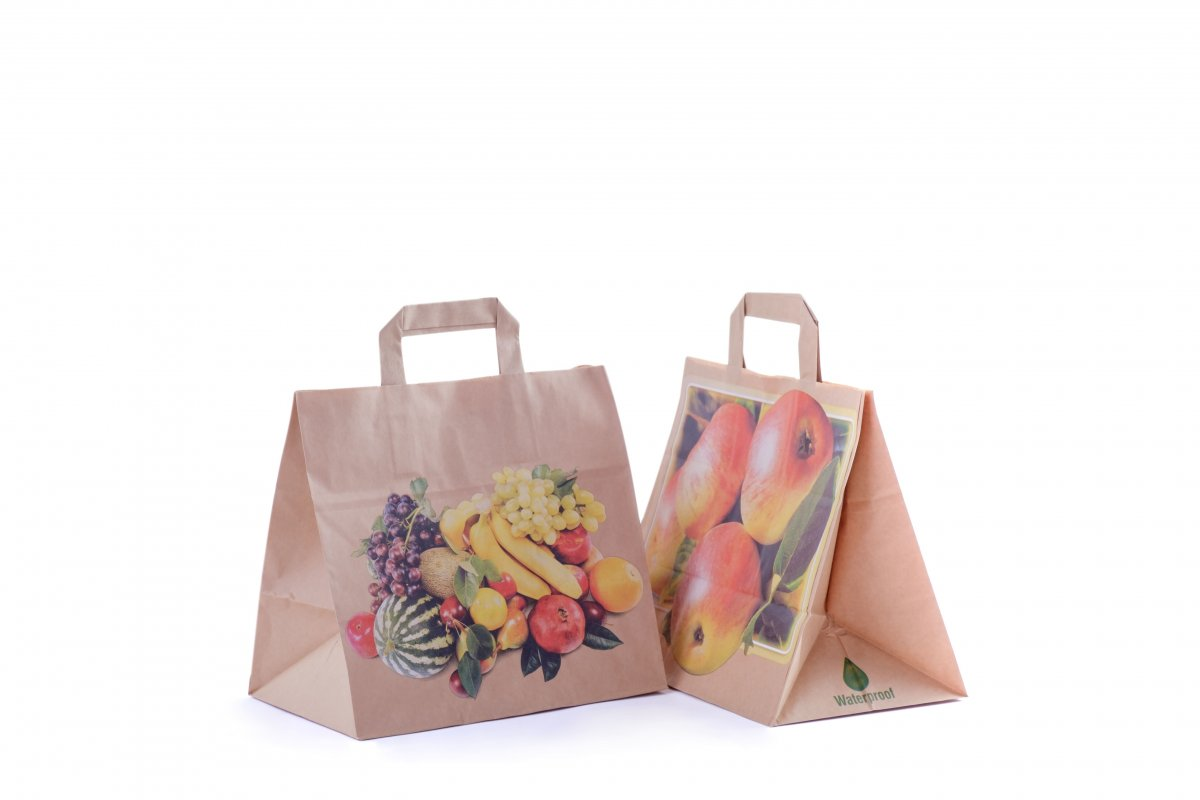 Paper Shopper for Fruit and Vegetables